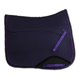 Kifra-pad Square Purple COTTON_