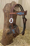 Western Hoofdstel Browband Beads | 2 kleuren |_
