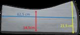 Losse Universele Western vilt inlagen 12 mm _