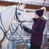 Anatomisch Hoofdstel Feeling Black White - Crystal Silver_