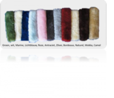 Kleuren lamswol
