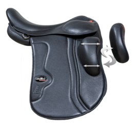 Karlslund A-Saddle Kneefit