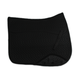 Kifra-pad Square Black COTTON