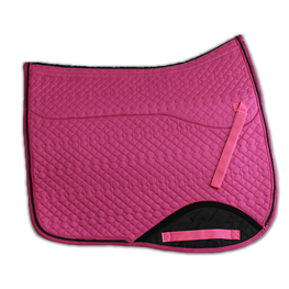 Kifra-pad Square Dark Pink COTTON