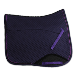 Kifra-pad Square Purple COTTON