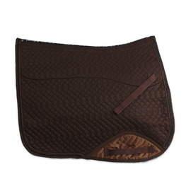 Kifra-pad Square Brown COTTON