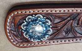 Concho Flowersetting Blue