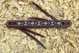 Waterloop Straps Black Beads   5 kleuren   1,27 cm