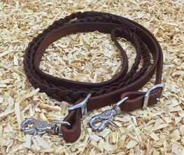 CLOSED Reins Braided Extra Long