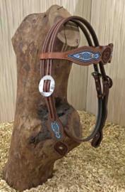 Western Hoofdstel Browband Beads | 2 kleuren |