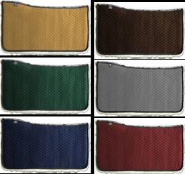 Westernpad Lamswol 96 kleuren combinaties