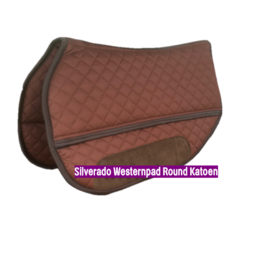 Silverado Westernpad Round Katoen 70 cm