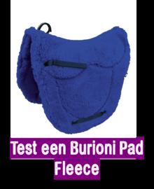 Test 2 weken een zadelvormige Burioni Fleece pad