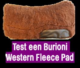 Test 2 weken een Burioni Western Fleece pad