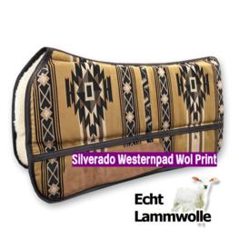 Silverado Westernpad Wol Print LAATSTE STUKS OP = OP