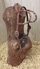Western Hoofdstel Copper Chestnut