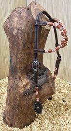 Western Hoofdstel Copper Brown