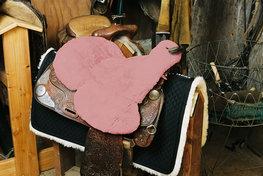 Seatsaver Western met Knop Pink
