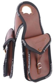 Cattleman's Double Horn Bag Leather