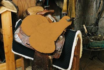 Seatsaver Western met Knop Camel