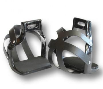 Veiligheidsbeugels Aluminium Zwart