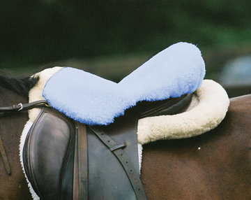 Seatsaver Lamswol Lichtblauw