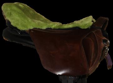 Seatsaver voor Ghost zadels Groen