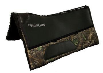 Thinline Cordura Fleece Western Square Pad Camouflage Groen