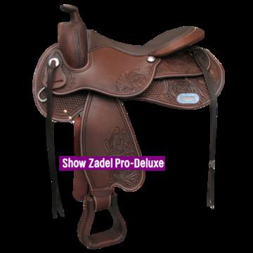 Silverado Boomloos Western Show Zadel Pro-Deluxe