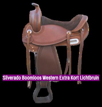 Silverado Boomloos Western Extra Kort Lichtbruin