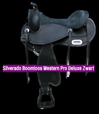 Silverado Boomloos Western Pro Deluxe Zwart