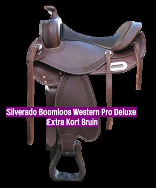 Silverado Boomloos Western Pro Deluxe Extra Kort Bruin