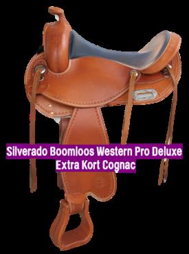 Silverado Boomloos Western Pro Deluxe Extra Kort Cognac