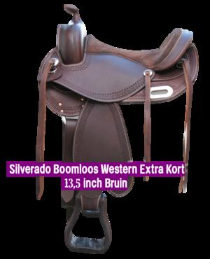 Silverado Boomloos Western Extra Kort 13,5