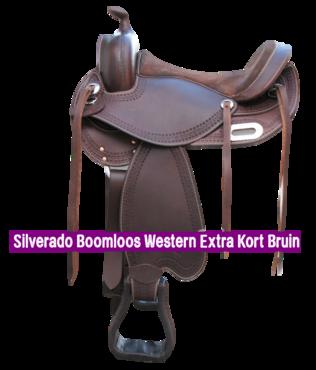 Silverado Boomloos Western Extra Kort Bruin