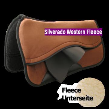 Silverado Westernpad Suède Fleece