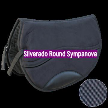 Silverado Westernpad Round Zwart Suède Sympanova