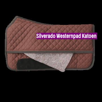 Silverado Westernpad Bruin Katoen