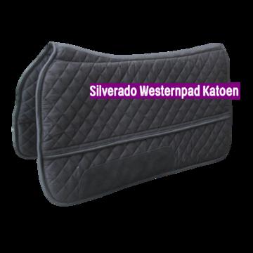 Silverado Westernpad Zwart Katoen