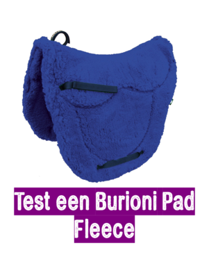 Test 2 weken een zadelvormige Burioni Fleece pad