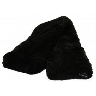 Lamswol Singelhoes Zwart