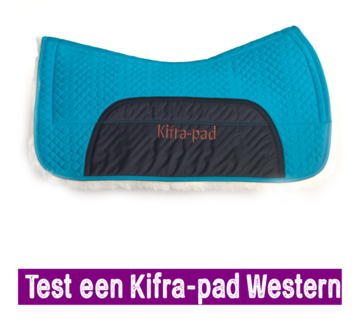 Test 2 weken een Kifra-pad Western