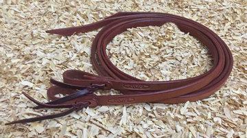 Leather Split Reins Chestnut