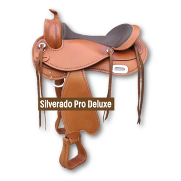 Silverado Boomloos Western Pro Deluxe Cognac