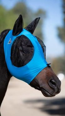 Professional's Choice Comfort Fit Vliegenmasker Blue
