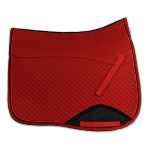 Kifra-pad Square Red COTTON