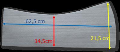 Losse Universele Western vilt inlagen 12 mm