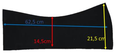 Losse Universele Western Neopreen inlagen 12 mm