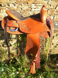 Freemax Western Cow Cognac Round