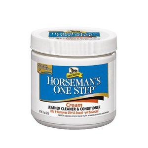 Horseman's One Step ® Cream Leather Cleaner & Conditioner